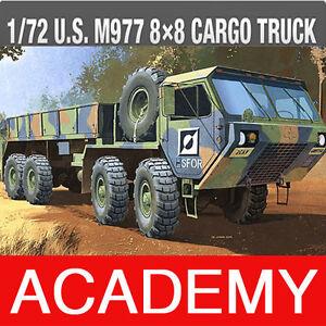 1-72-U-S-M977-8X8-CARGO-TRUCK-C13412-ACADEMY-HOBBY-MODEL-KITS