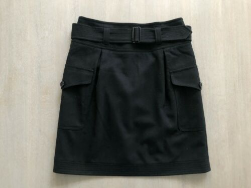 Black Burberry Skirt with Pockets, Size 36