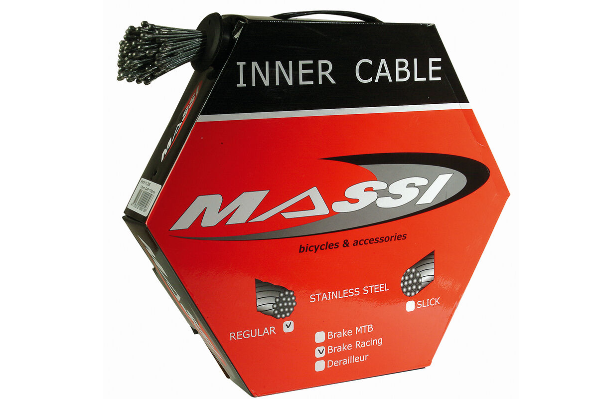 MASSI Box of 100 cable towropes  for road brakes  online outlet sale