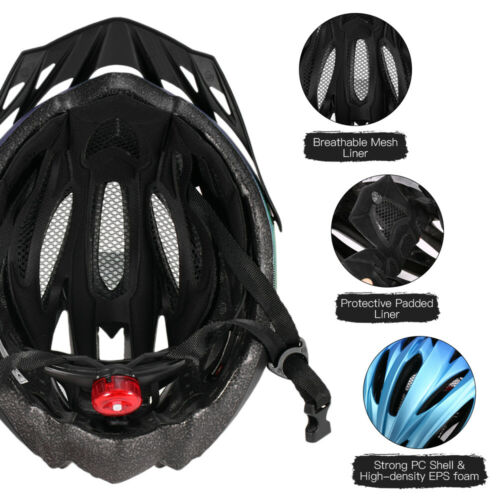 Protective Mens Adult Road Cycling Safety Helmet MTB Mountain Bike//Bicycle N2H0