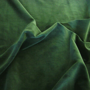 BOTTLE-GREEN-100-Cotton-Velvet-Fabric-Sold-by-the-metre-LUXURIOUS-MATERIAL