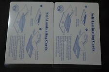 2 Laminating Pouches For Business Card Id Card Ss Card Size 2 58 X 3 78