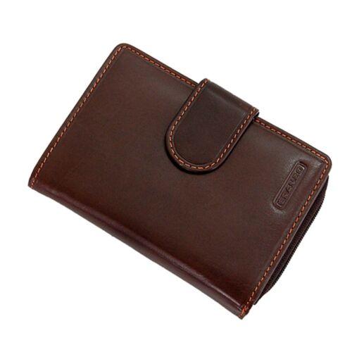 Branco Damen Geldbörse Leder Damenbörse Geldbeutel Portemonnaie 7848 GoBago