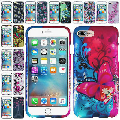 For iPhone 7 iPhone 8 New Hard Snap On Two Piece Design Cover Case