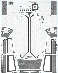 Todo-Nuevo-Warbird-Lanzadera-Espacial-Baldosa-Detalles-Adhesivos-Monograma-Kit