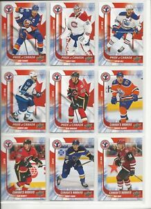 2016-UD-NHCD-NATIONAL-HOCKEY-CARD-DAY-CANADA-COMPLETE-17-CARD-SET-MCDAVID-RC