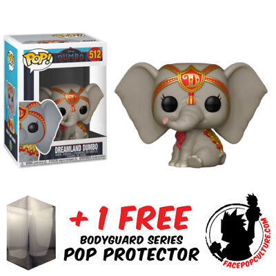 FUNKO POP DISNEY DUMBO VINYL FIGURE FREE POP PROTECTOR