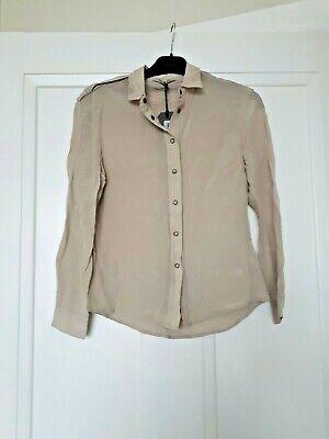 All Saints Shirt Size 8uk Rrp £128
