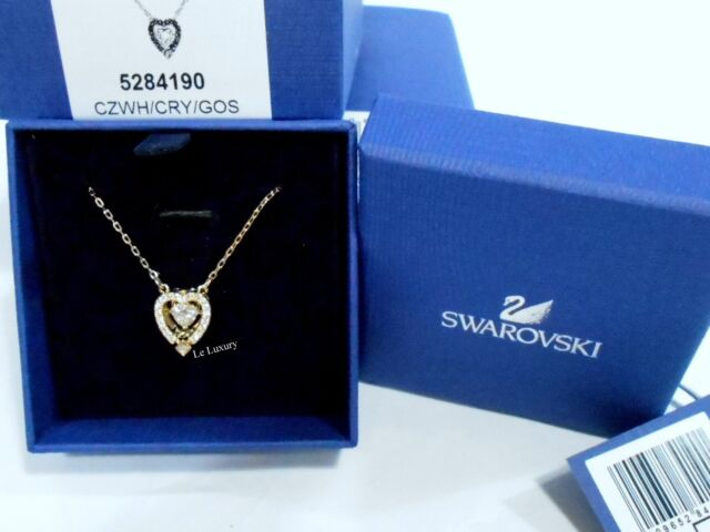 Swarovski Sparkling Dance Heart Necklace - 5284190 for sale online ... 3c9c0e890