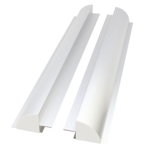 Set of 2 x 67cm Aluminium Solar Panel Mounting Brackets//Spoilers