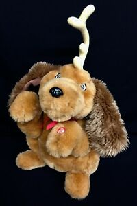 image is loading animated max twirling ears barks music dog plush - How The Grinch Stole Christmas Dog