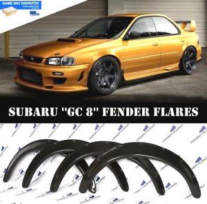 Subaru-Impreza-WRX-92-00-Fender-Bengalas-Rueda-Arcos-extensiones-cuerpo-ancho-4-piezas