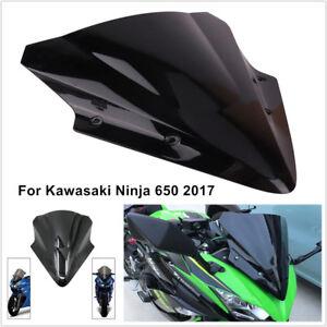 Motorcycle Windscreen Windshield Screen For Kawasaki Ninja 650 2017