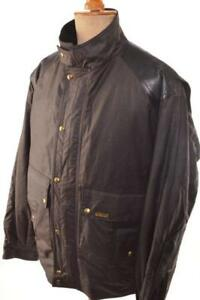 BELSTAFF-WAX-COTTON-LEATHER-BIKER-JACKET-L-LARGE-PRISTINE-MADE-IN-ENGLAND