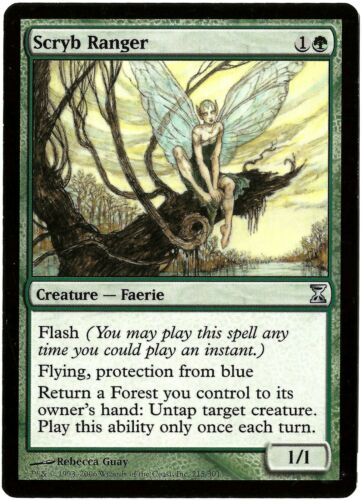 1x SCRYB RANGER CARD #215 /<MODERATE PLAY MP/> TSP TIME SPIRAL MTG SET