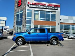 2011 Ford F 150 FX4 /4x4 /CREWCAB/LEATHER SEATS/SUNROOF