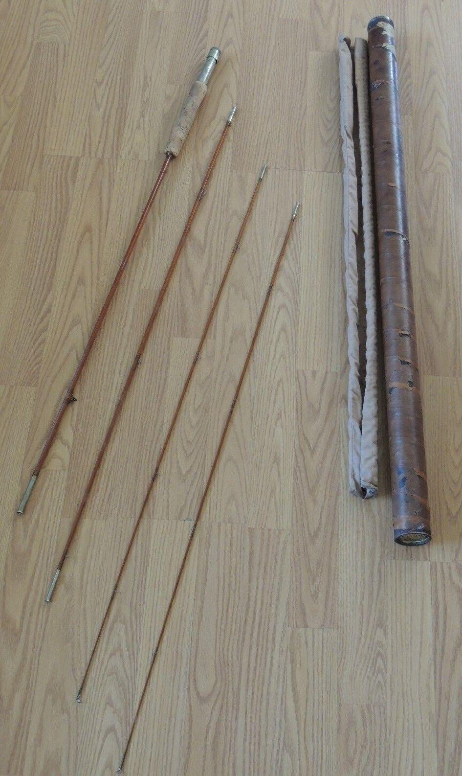 Wright & McGill Granger victoria de bambú Fly Rod 9' WT 5 3 4 OZ