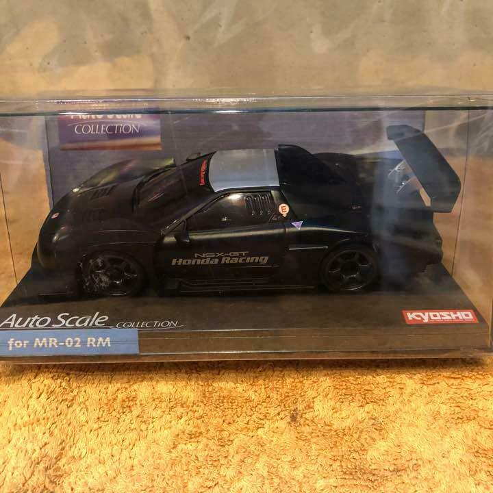 Kyosho Auto Scale Collection Honda Racing NSX 2005 Test auto  for MR-02 RM  nuovo di marca