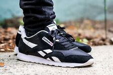 9d4d721fe1f99 item 3 Reebok Classic Nylon Black White Mens Sneaker Shoes Size 10.5  PRE-OWNED 6604 -Reebok Classic Nylon Black White Mens Sneaker Shoes Size  10.5 PRE-OWNED ...