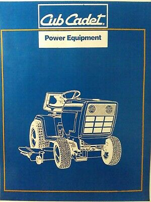 Cub Cadet CCC MTD 1440 Lawn Garden Tractor 633 Parts Catalog Manual  772-3976   eBayeBay