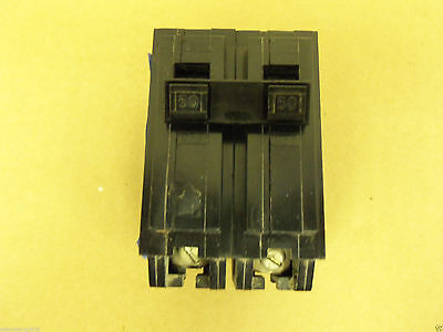 HOM250 Square D Type HOM Circuit Breaker 2 Pole 50 Amp 240V 2 YEAR WARRANTY!!