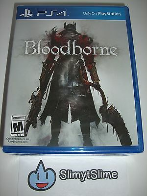 Bloodborne (Action RPG; FromSoftware, Sony PlayStation 4, 2015) — NEW & SEALED!