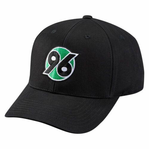 Kappe Logo schwarz H96 plus Lesezeichen Hannover 96 Basecap Cap Schildmütze