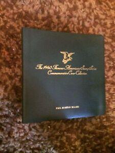 1940 Célèbre Americal Couvre-postal Commemorative Society-liant Seulement