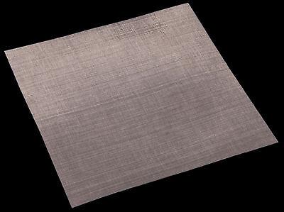 Acciaio Inox Rete Metallica Tessuto-Filo Tessuto Acciaio Inox Zanzariera Rotoi 1,2 x 2,5m