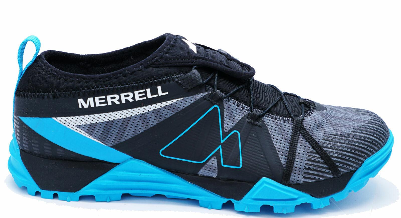 Da UOMO MERRELL avalaunch Blu Corsa Palestra Passeggio Casual Sportive Sautope da ginnastica 7-12