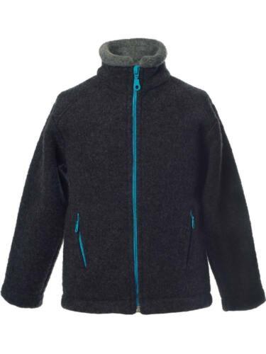 Bio Kinder Fleecejacke warm Reiff Kinder Fleece Jacke Colori Bio-Wolle