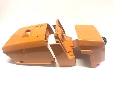 100% QualitäT Stihl Haube Ms 440 460 044 046 Set Abdeckung Hd Filter + Gratis Los