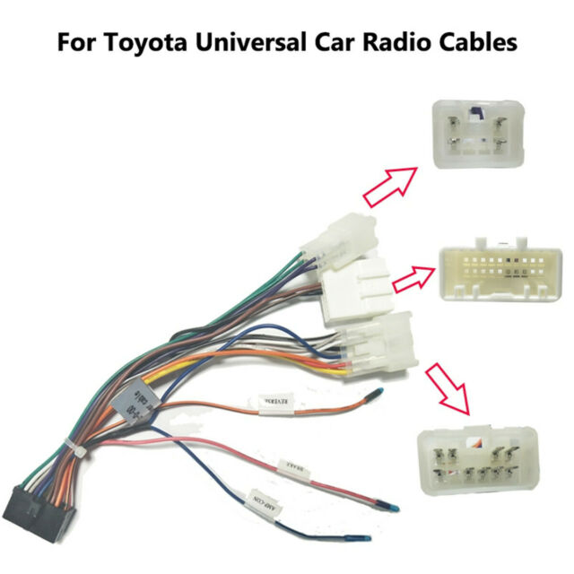 Iso Wiring Harness Car Radio Plug Lead Wire Loom Connector