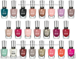 Image Is Loading Sally Hansen Nail Polish Complete Salon Manicure New