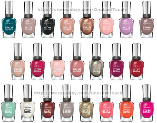 Sally Hansen Complete Salon Manicure Nail Polish 409 Good To Grape Ebay