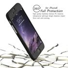 Hybrid 360° Hard Thin Case + Tempered Glass Cover For iPhone 6 7 Plus SE