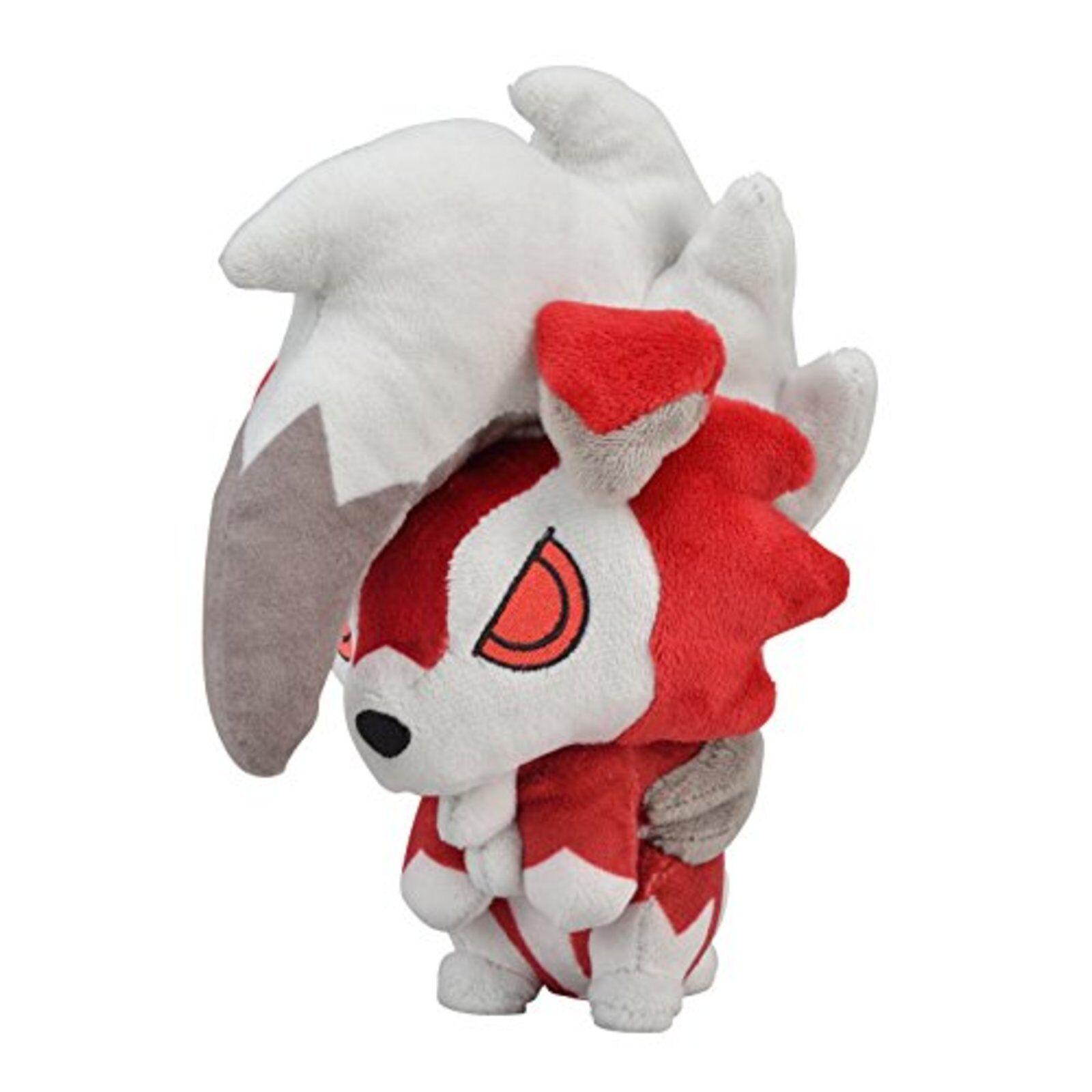 Pokemon Centro Original Peluche Lycanroc Medianoche F S W  Seguimiento   Japón