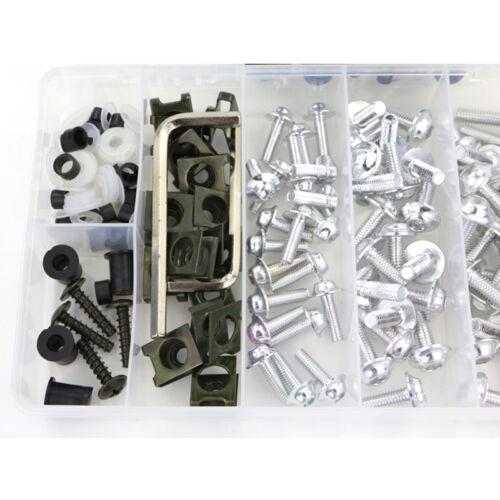 For Yamaha Tmax530 2012-2016 Fairing Bolt Kit Bodywork Screws Fasteners Silver