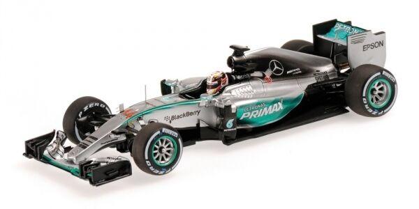 MERCEDES w06 Hybrid Lewis Hamilton Malaysian GP world champion f1  2015 1 43  parfait