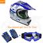 DOT-Youth-Kid-Helmet-Dirt-Bike-ATV-Motocross-Motorcycle-Full-Face-Goggles-Gloves thumbnail 36