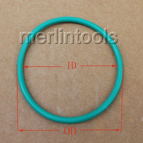 5.7mm Section Select OD from 205mm to 465mm Fluororubber O-Ring gaskets