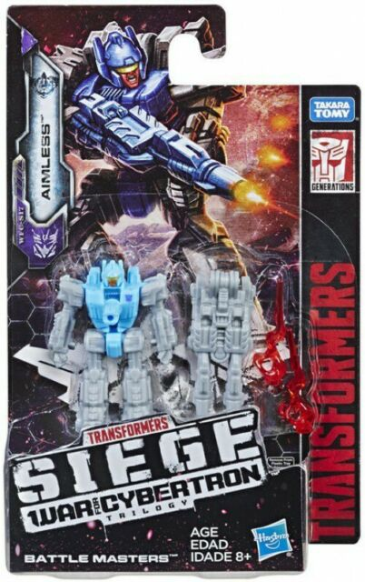 Transformers War for Cybertron SIEGE AIMLESS Battle Master 2in Action Figure W2