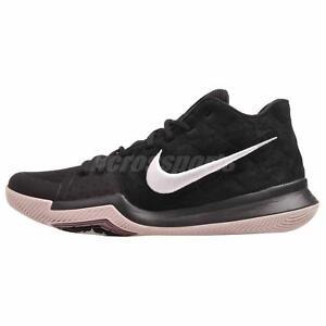 2f1f44678e95 Image is loading Nike-Kyrie-3-Basketball-Mens-Shoes-Black-White-