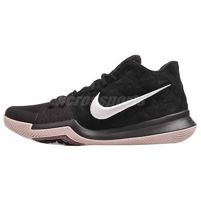 Athletic Shoes Men's Shoes Generous Nike Kyrie 3 Basketball Mens Shoes Black White 852395-010