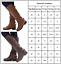 Women-PU-Leather-Mid-Calf-Boots-Ladies-Block-Low-Heels-Lace-Up-Riding-Shoes-Size thumbnail 4