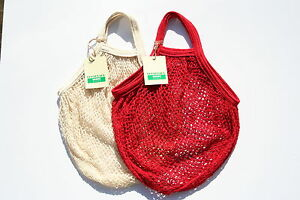 2-x-String-net-Shopping-Bag-made-from-recycled-unbleached-cotton-Short-Handles