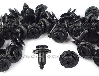 50 Rocker Panel Moulding Retainer Push Type Clip For Toyota 4-Runner 90467-06133