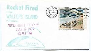 1972 Wallops Island Rocket Fired Viper Dart T15798 Wff Goddard Base Nasa TrèS Poli