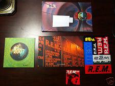 2007 R.E.M. REM Xmas Christmas Fan Club Singles Single Vinyl Complete Record