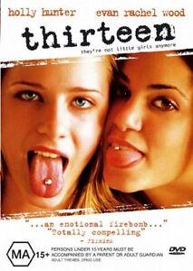 Thirteen-R4-DVD-2006-Holly-Hunter-amp-Evan-Rachel-Wood-GC-FREE-POST